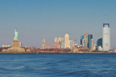 New-Jersey Skyline Stockbilder