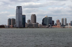 New Jersey skyline Royalty Free Stock Photo
