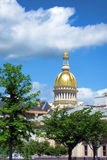 New Jersey State Capitol Building in Trenton. New Jersey State House Capitol building with golden dome in the New Jersey capital of Trenton Stock Images