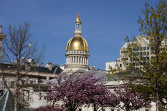 New Jersey State Capitol Building in Trenton Stock Image