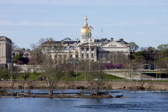 New Jersey State Capitol Building in Trenton Royalty Free Stock Images