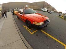 New-Jersey Taxi Stockbild