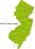 New Jersey tillstånd Arkivbild