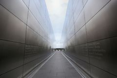 New Jersey, USA - August 19, 2018: Empty Sky Memorial New York C Stock Photo