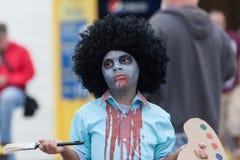 New Jersey Zombie Walk 2016 Stock Photo