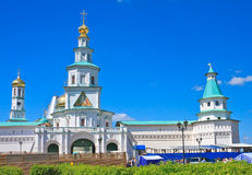 New Jerusalem Monastery. Istra. Moscow region Royalty Free Stock Photos