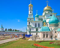 New Jerusalem Monastery. Istra. Royalty Free Stock Photos
