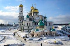 New Jerusalem Monastery , Istra, Russia royalty free stock photography