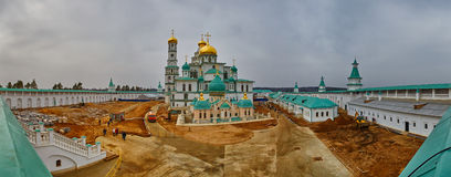 New Jerusalem Monastery Restoration Royalty Free Stock Photos
