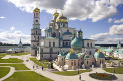 The new Jerusalem monastery Royalty Free Stock Image
