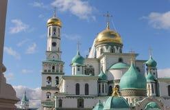 New Jerusalem Monastery. Russia Stock Photos