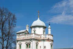 New Jerusalem in town Istra, surroundings of Moscow, Russia Royalty Free Stock Photos