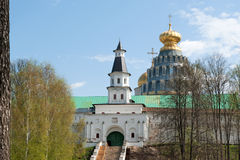 New Jerusalem in town Istra, surroundings of Moscow, Russia Stock Image