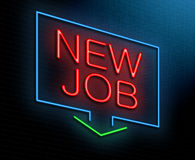 Free New Job Concept. Stock Photo - 37461640