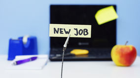 New job office stock images