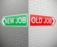 New job old job. Royalty Free Stock Photography