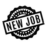 New Job rubber stamp Royalty Free Stock Photography