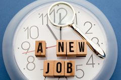 New Job Time Royalty Free Stock Photo