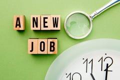New Job Time Stock Photos
