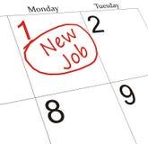 New Job Royalty Free Stock Photography