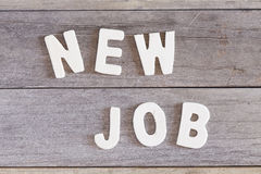 New job Stock Photography