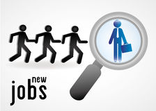 New jobs Stock Photo