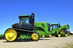 New John Deere 9570RT tractor Royalty Free Stock Images