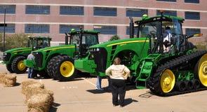 New John Deere Tractors Royalty Free Stock Photography