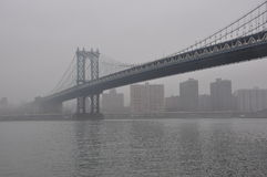New York Manhattan Bridge Royalty Free Stock Photos