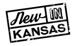 New In Kansas rubber stamp Stock Photos