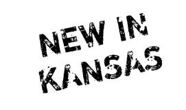 New In Kansas rubber stamp Royalty Free Stock Photography