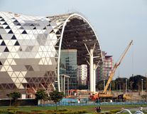 The New Kaohsiung Exhibition and Convention Center Royalty Free Stock Photos