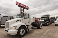 New Kenworth T270 Truck Stock Photos