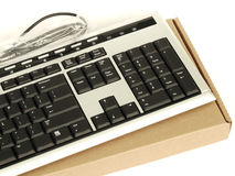 New Keyboard Product - Closeup Stock Photography