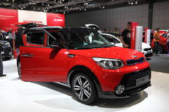 New KIA Soul at the Auto Mobile International Stock Image