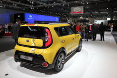 New KIA Soul at the Auto Mobile International Royalty Free Stock Photos