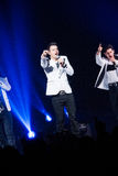 New Kids On The Block Concert in Montreal Stock Images