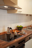 New kitchen. Kitchen interior in family house Stock Photo