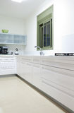 New kitchen in a modern home Royalty Free Stock Photography