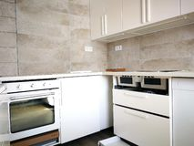 New kitchen room stock photos