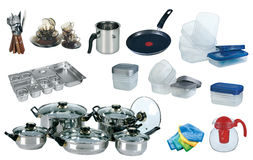 New kitchen set Royalty Free Stock Photo