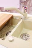 New kitchen sink Stock Images
