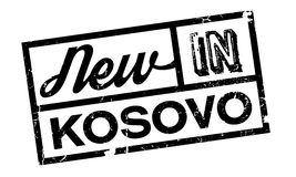 New In Kosovo rubber stamp Stock Images