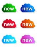 New label Stock Image