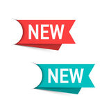New labels Stock Photography