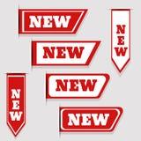 New labels set  eps 10 illustration Stock Photo