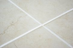 New laid tiles Stock Photos