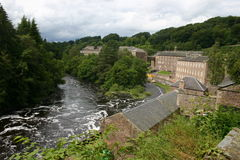 New Lanark City Royalty Free Stock Photos