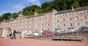 New lanark,  South Lanarkshire Stock Photo