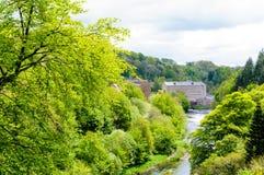New Lanark World Heritage Site Royalty Free Stock Image
